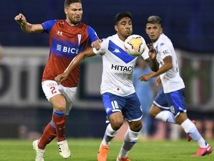 Vélez cayó como local ante Universidad Católica de Chile, en el encuentro de ida de los cuartos de final de la Copa Sudamericana