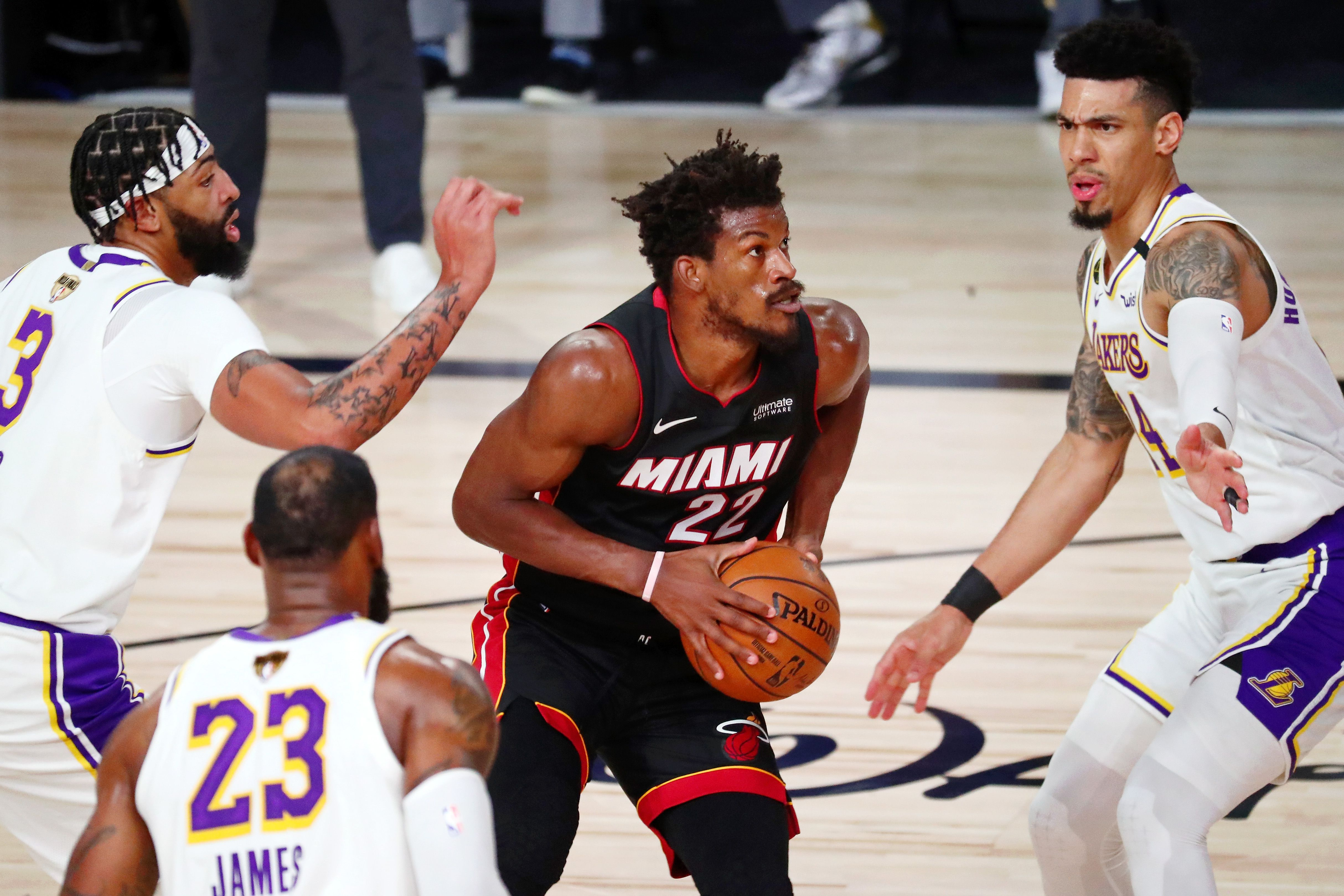 Jimmy Butler es la principal esperanza de los Miami Heat (Credit: Kim Klement-USA TODAY Sports)