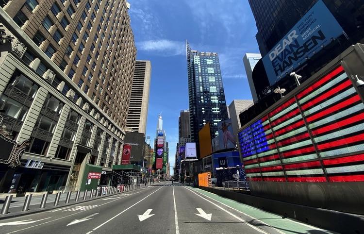 La ciudad de Nueva York es el principal foco de contagio de EEUU (REUTERS/Mike Segar)