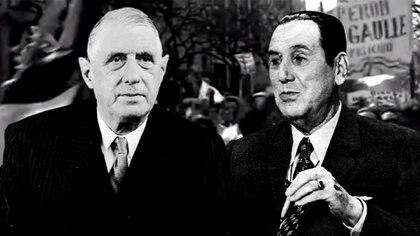 """De Gaulle fue criticado por crear """"fisuras en el frente defensivo de Occidente"""" y Perón por """"apartarse del coro y desafiar al orden mundial"""". Ambos defendieron el interés de sus naciones"""