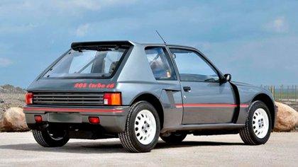 El 205 Turbo 16 fue un ícono de la primera generación (Peugeot)
