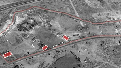 Los lugares bombardeados por Israel