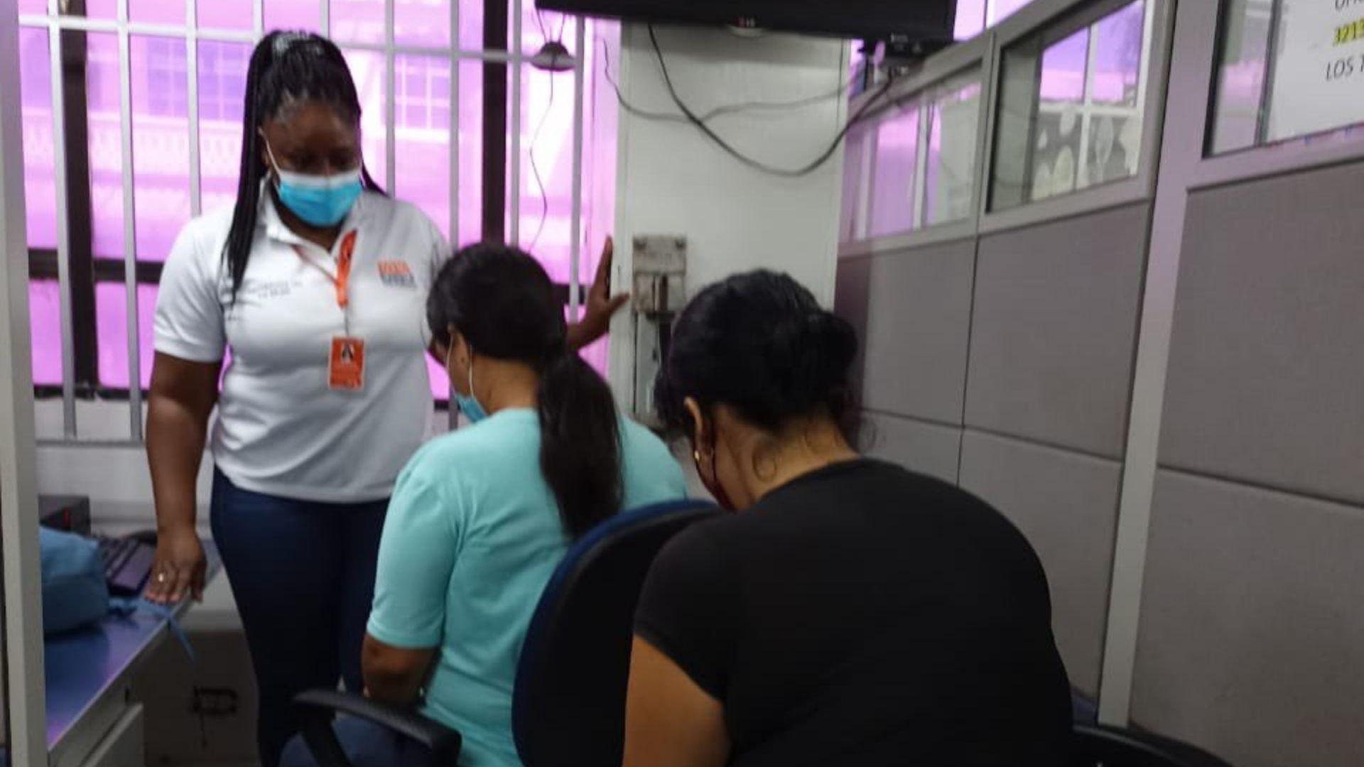 mujeres agredidas en Santa Marta