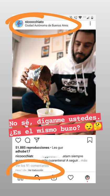 Nico Occhiato (Foto: Instagram)