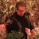 Photo © 2018 Backgrid/The Grosby Group Spain: Lagencia Grosby EXCLUSIVE Beverly Hills, CA - June 14 2018 Leonardo DiCaprio and Camila Monroe keep it low key as they meet Al Pacino and Camila's mother Lucila for dinner at Avra in the Beverly Hills. Camila sits close to Leo as they enjoy a dinner at the new hotspot with family. While Al Pacino showed his face without a problem, DICaprio used a hoodie the whole time to avoid being photographed.