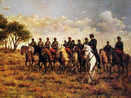 La Campaña al Desierto se inició en 1879 y concluyó en 1885