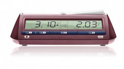 El reloj ideado por Fischer, del que se vendieron más de medio millón de unidades a 200 dólares, aunque el ex campeón no obtuvo los derechos de patente. (DGT)
