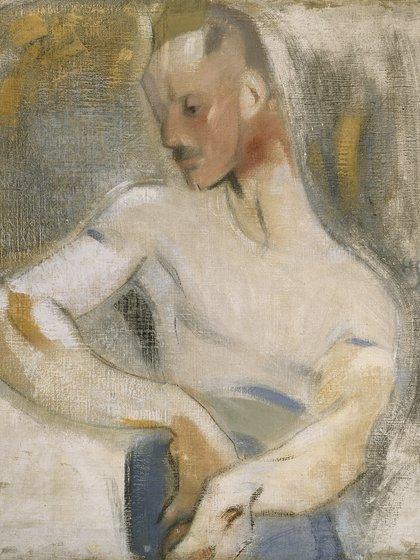 El marinero (1918, el que posa es Einar Reuter)