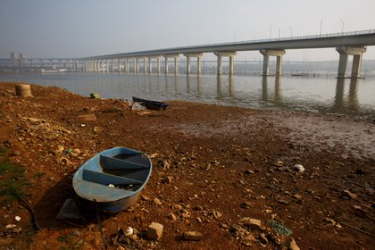 El río Yangtze (China), uno de los más contaminados del mundo