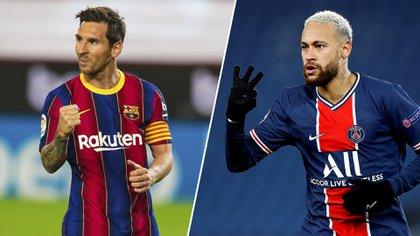 Lionel Messi y Neymar se cruzarán por los octavos de final de Champions League