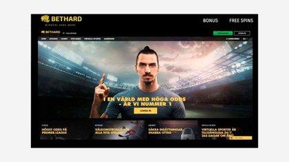 Zlatan Ibrahimovic como portada del sitio online en abril de este año (Foto: Sportbladet)