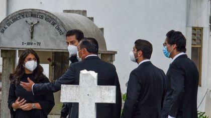 Funerales Luis Miranda Cardoso (Foto: Cuartoscuro)
