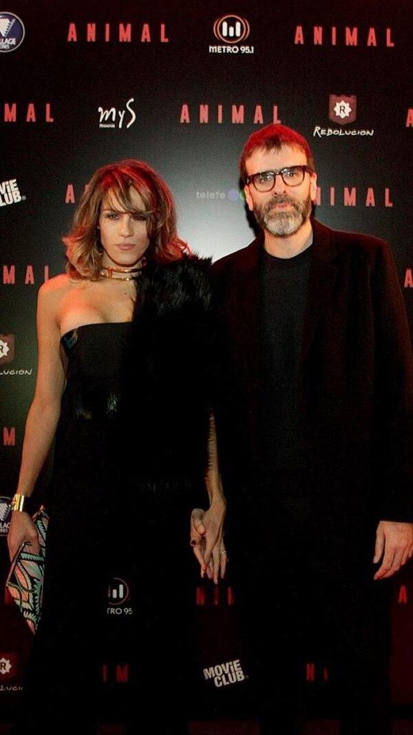 En el estreno de Animal, film en el que actuó Mariana, dirigido por Armandito Bó Jr, de quien es primo y co equiper en guión su pareja, Nicolás Giacobone.
