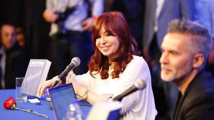 Cristina Kirchner en La Matanza (crédito: Frente de Todos)