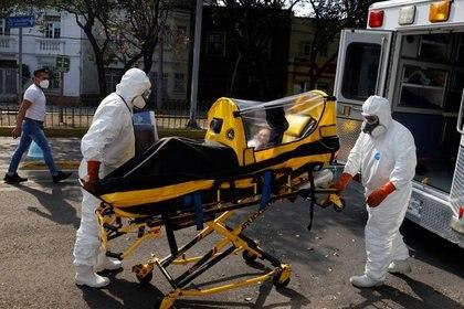 Ayer, 9 de enero, el paciente tuvo que se intubado (Foto: REUTERS/Carlos Jasso)
