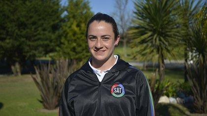 Gisele García, capitana del SAT (Gustavo Gavotti)