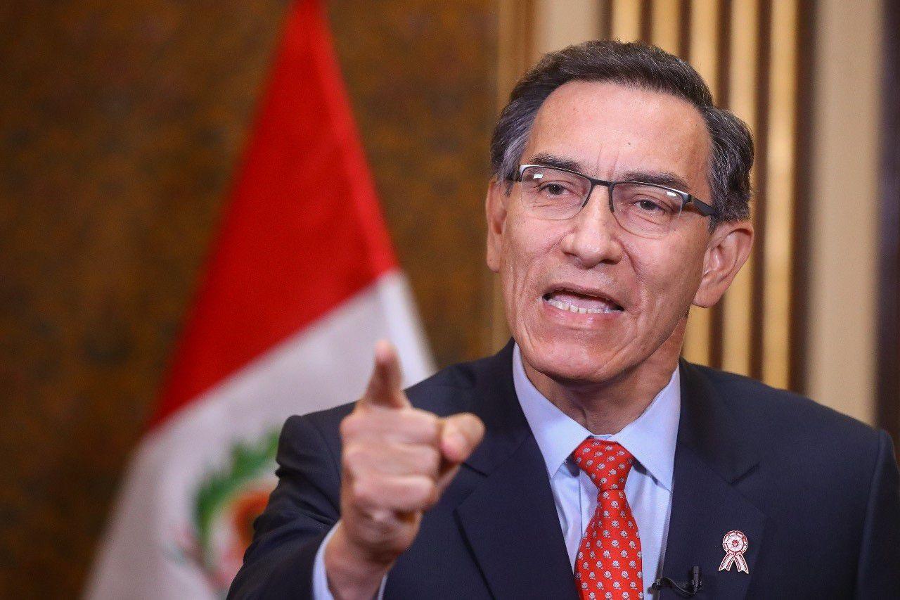 Martín Vizcarra, presidente de Perú (PRESIDENCIA PERÚ)