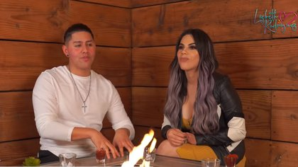 A unos meses de que terminaron su noviazgo Lizbeth Rodríguez y Tavo Betancourt, ambos ex colaboradores de Badabun recordaron algunos detalles de su noviazgo. (Foto: captura de pantalla)