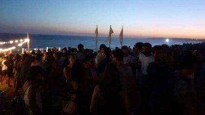 En Mar del Plata desactivaron otra fiesta clandestina con 800 personas (Gentileza La Capital)