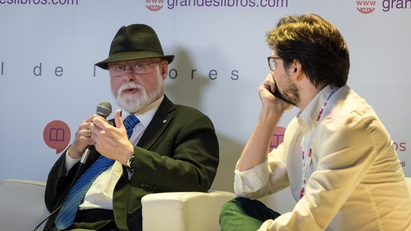 El también escritor habló sobre la cultura y la función de la Biblioteca Nacional