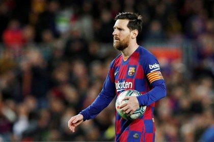 Lionel Messi es el capitán del Barcelona (Reuters)