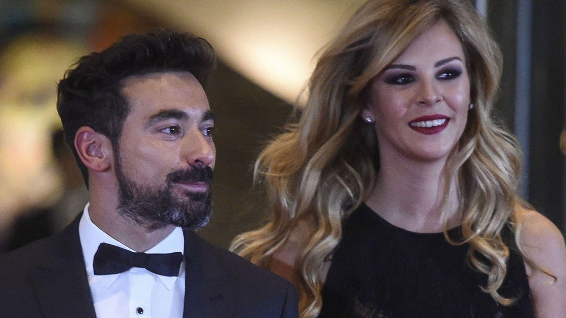 Yanina Screpante todavía no llegó a un acuerdo económico con Ezequiel Lavezzi (AFP)