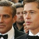 Mandatory Credit: Photo by James Mccauley/Shutterstock (666399z) George Clooney and Brad Pitt 'Ocean's 13' film premiere at the 60th Cannes Film Festival, Cannes, France - 24 May 2007
