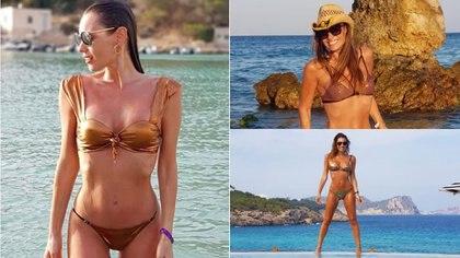 Las fotos de las vacaciones de Pampita en Ibiza