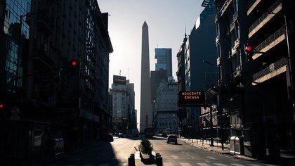 La Argentina inició su cuarentena el 20 de marzo (Adrián Escandar)