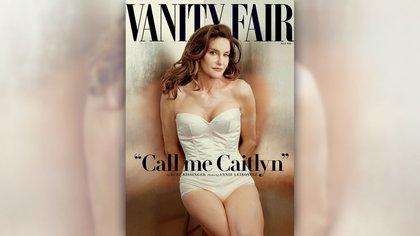 Caitlyn Jenner en la tapa de Vanity Fair
