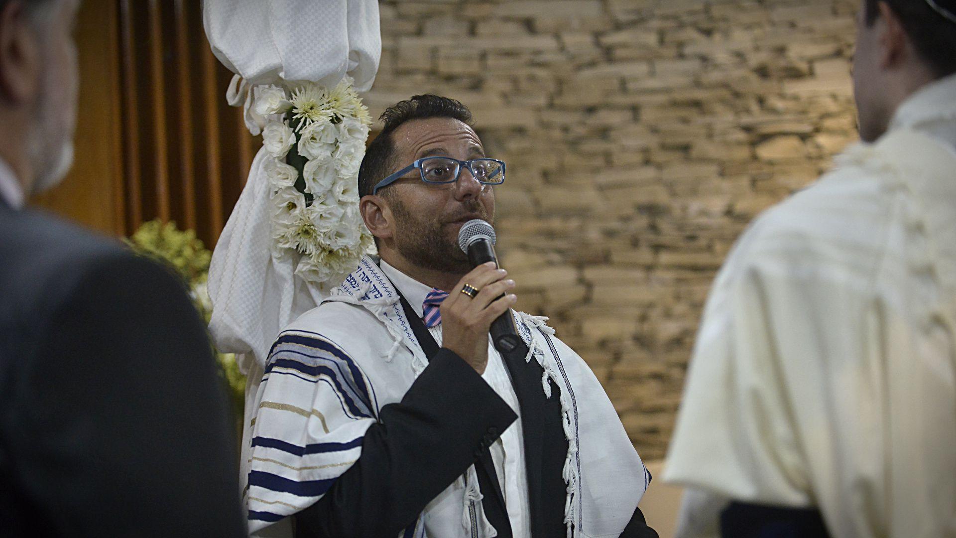 El rabino Marcelo Bater, director espiritual de la Comunidad Dor Jadash