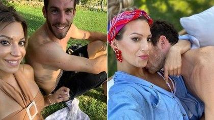 Noelia Marzol se comprometió con su novio, el futbolista Ramiro Arias