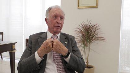 El presidente de la Cámara Argentina de Comercio (CAC), Jorge Di Fiori
