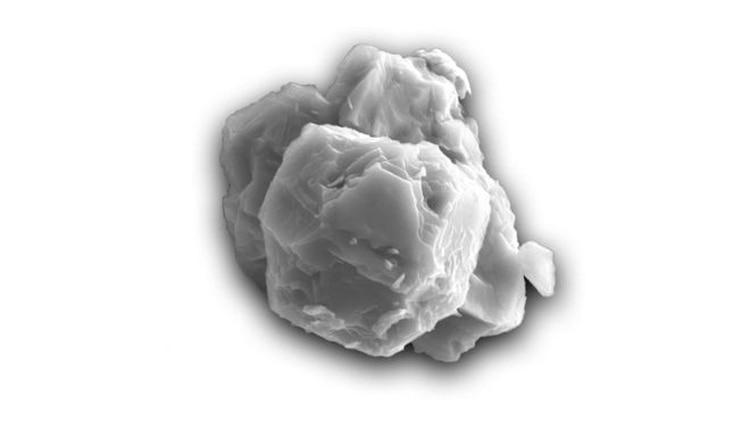 Este tipo de granos presolares son muy raros, pues se encuentran solo en un cinco por ciento de los meteoritos caídos en la Tierra y además su tamaño en minúsculo. (JANAÍNA N. ÁVILA)