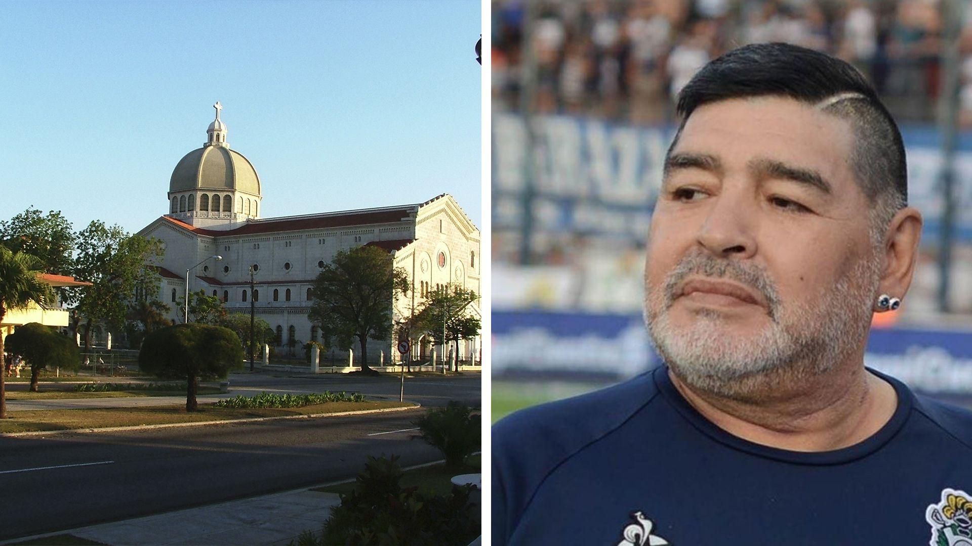 Diego Maradona y Miramar La Habana