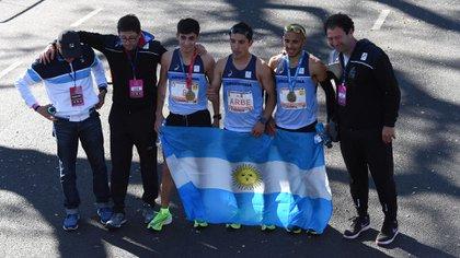 La delegación argentina repitió una destacada actuación en los 42K