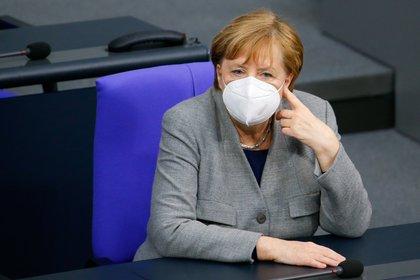 La canciller de Alemania, Angela Merkel. REUTERS/Michele Tantussi