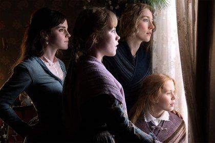 Las hermanas March, entorno a quienes gira la historia (Foto: Vanity Fair)