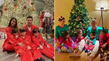 los saludos navideños de Lionel Messi y Cristiano Ronaldo que se volvieron virales