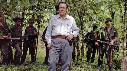 Manuel Marulanda Vélez, alias 'Tirofijo', fue el primer jefe de las FARC. Murió en 2008 (AFP)