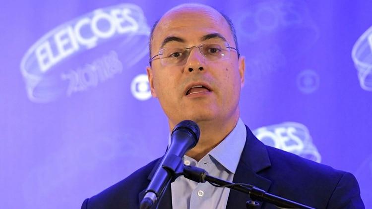 Wilson Witzel, gobernador de Río de Janeiro