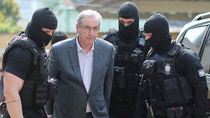 Eduardo Cunha detenido (AFP)