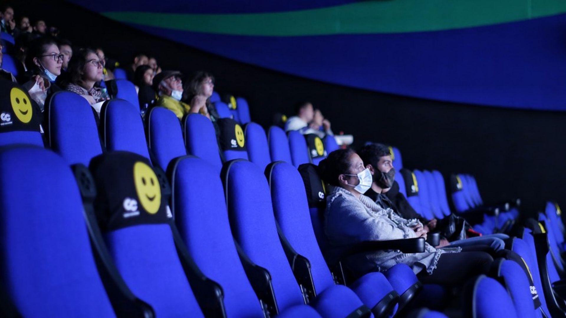 Reapertura de Cine Colombia en el Centro Comercial Portal 80. (Colprensa - Álvaro Tavera)