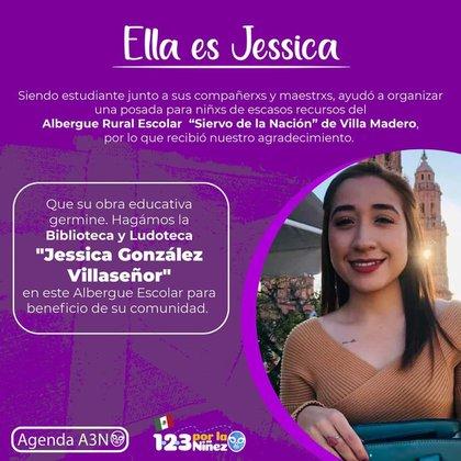 Jessica González era una joven que recién iniciaba su carrera como docente (Foto: Facebook/ A la de 3 por la niñez)