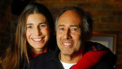 Romina y su papá, Gustavo Yankelevich: todavía hoy, él sueña con ella