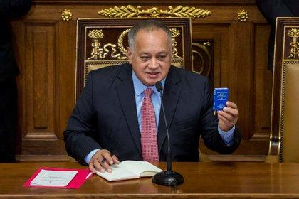 Diosdado Cabello, jefe de la Asamblea Nacional Constituyente (ANC) de Venezuela.. EFE