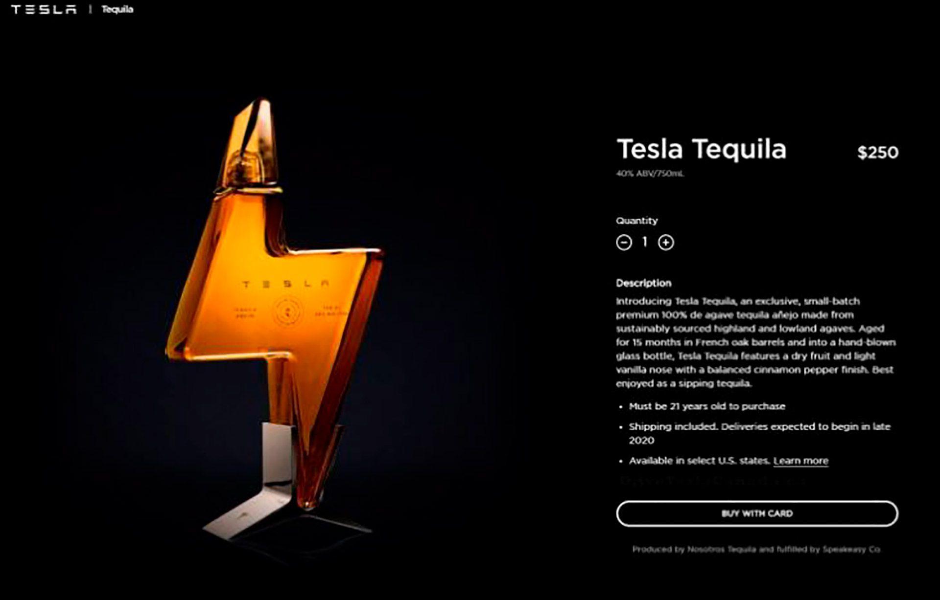 Tesla Tequila Elon Musk
