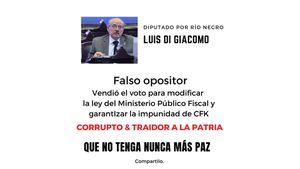 """""""Vendieron el voto"""": Laura Alonso apuntó contra cuatro diputados que le darían al Gobierno votos clave para la reforma del Ministerio Público Fiscal"""