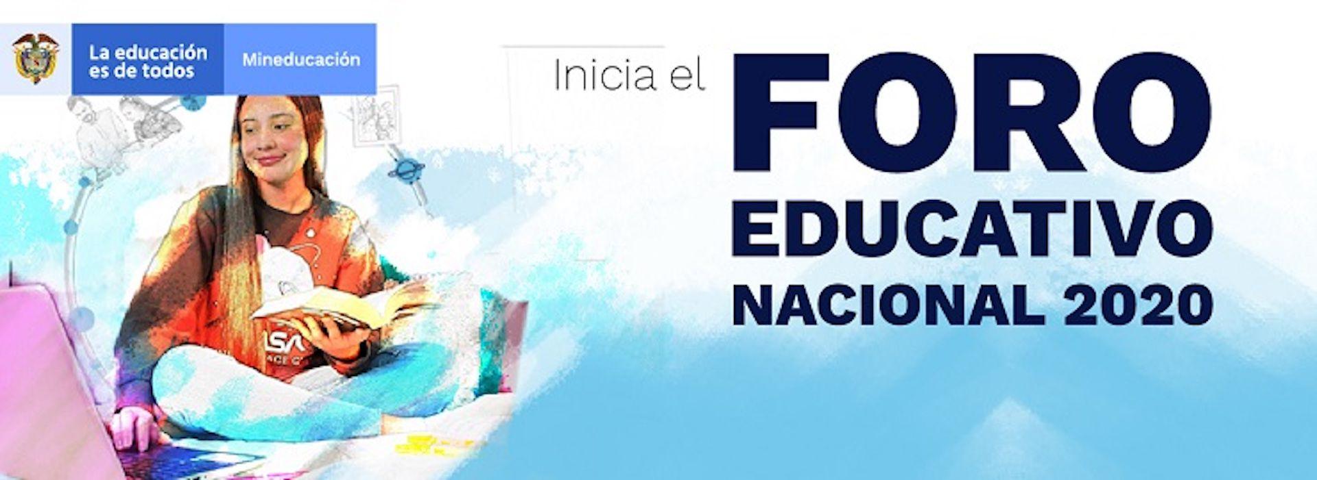 Foro Educativo Nacional 2020 / (Ministerio de Educación)