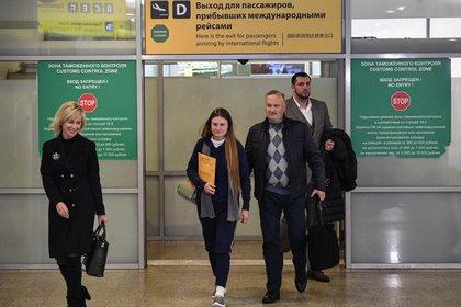 Maria Butina en Moscú (Photo by Alexander NEMENOV / AFP)